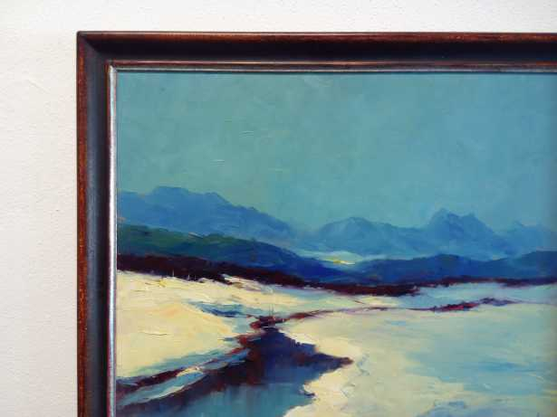 hans nowak die blaue landschaft gemaelde kunstauktionen online kostenlos gem lde. Black Bedroom Furniture Sets. Home Design Ideas